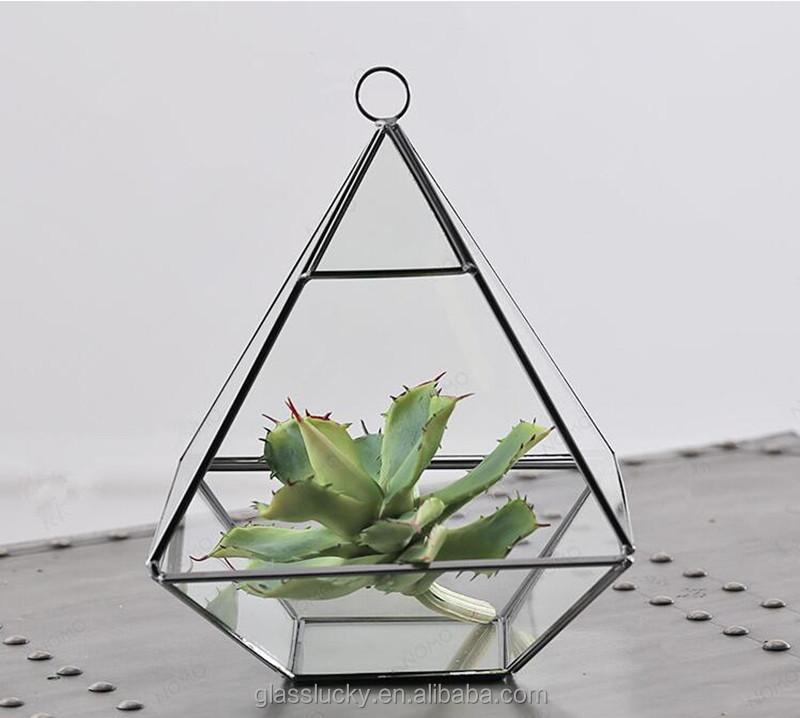 Decorative Terrarium Glass Geometric Glass Terrarium Wholesale