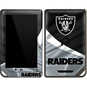 NFL Oakland Raiders Nook Color & Nook Tablet by Barnes and Noble Skin - Oakland Raiders Vinyl Decal Skin For Your Nook Color & Nook Tablet by Barnes and Noble