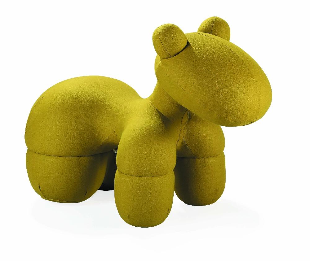 Modern leisure kids animal children home living room playful fiberglass balloon-inspired dog chair