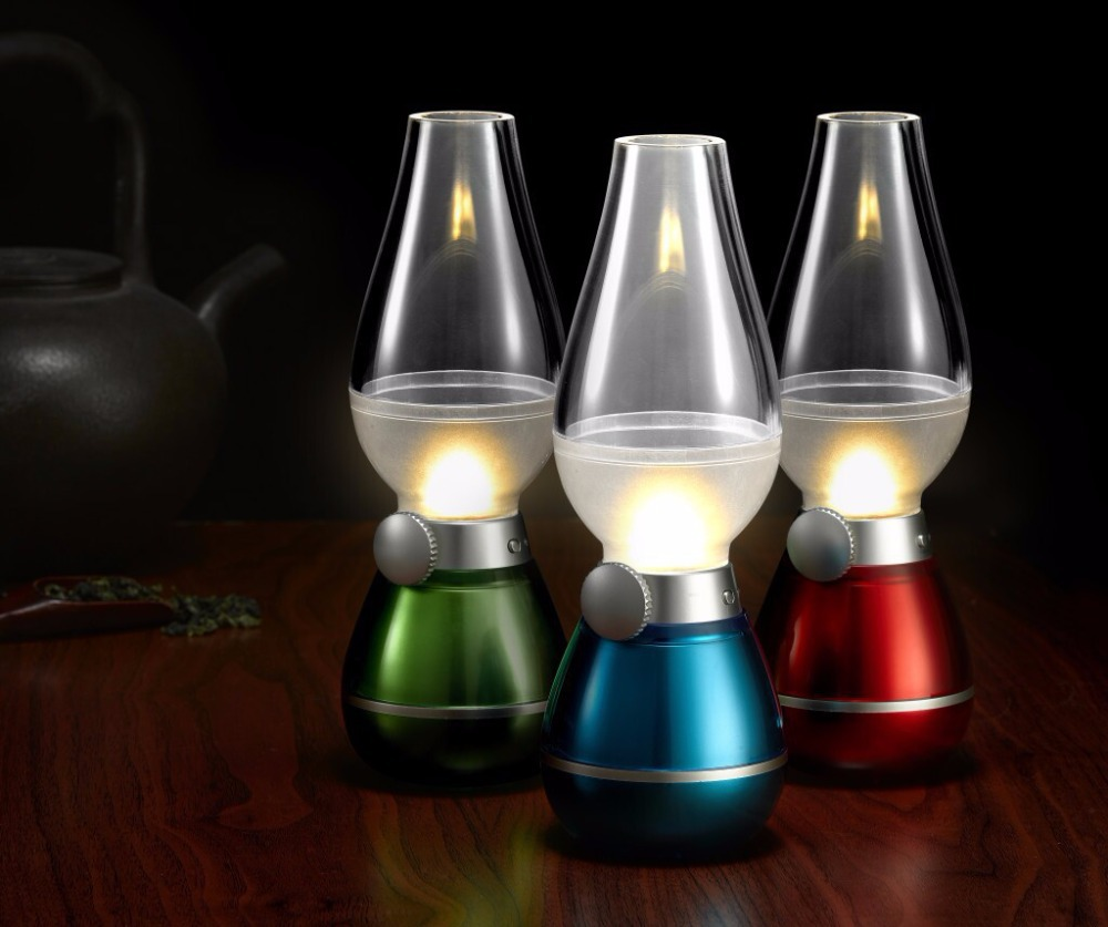 Buy Usb Rechargeable Led Nostalgic Blow Control Light