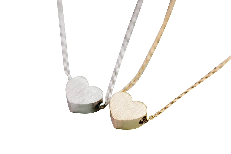 8e5a741af35a Get Quotations · Heart Necklace-iv