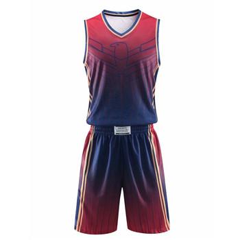 6f4dc5bc Deportes baloncesto Jersey nuevo modelo equipo uniforme del equipo  personalizado sublimación baloncesto Jersey conjunto llevar
