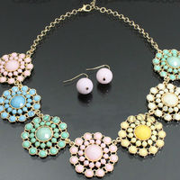 2013 rhinestone bling jewelry set wholesale jewelry