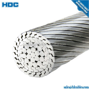 Korea All aluminum cable Bare Overhead AAC Conductor for Power Line