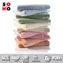 New 100% Cotton hotel towel set 5 star logo
