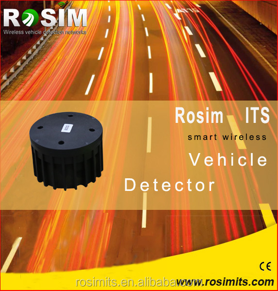Rosim High Quality Wireless Vehicle Detector Traffic Detection Sensor Replace Loop