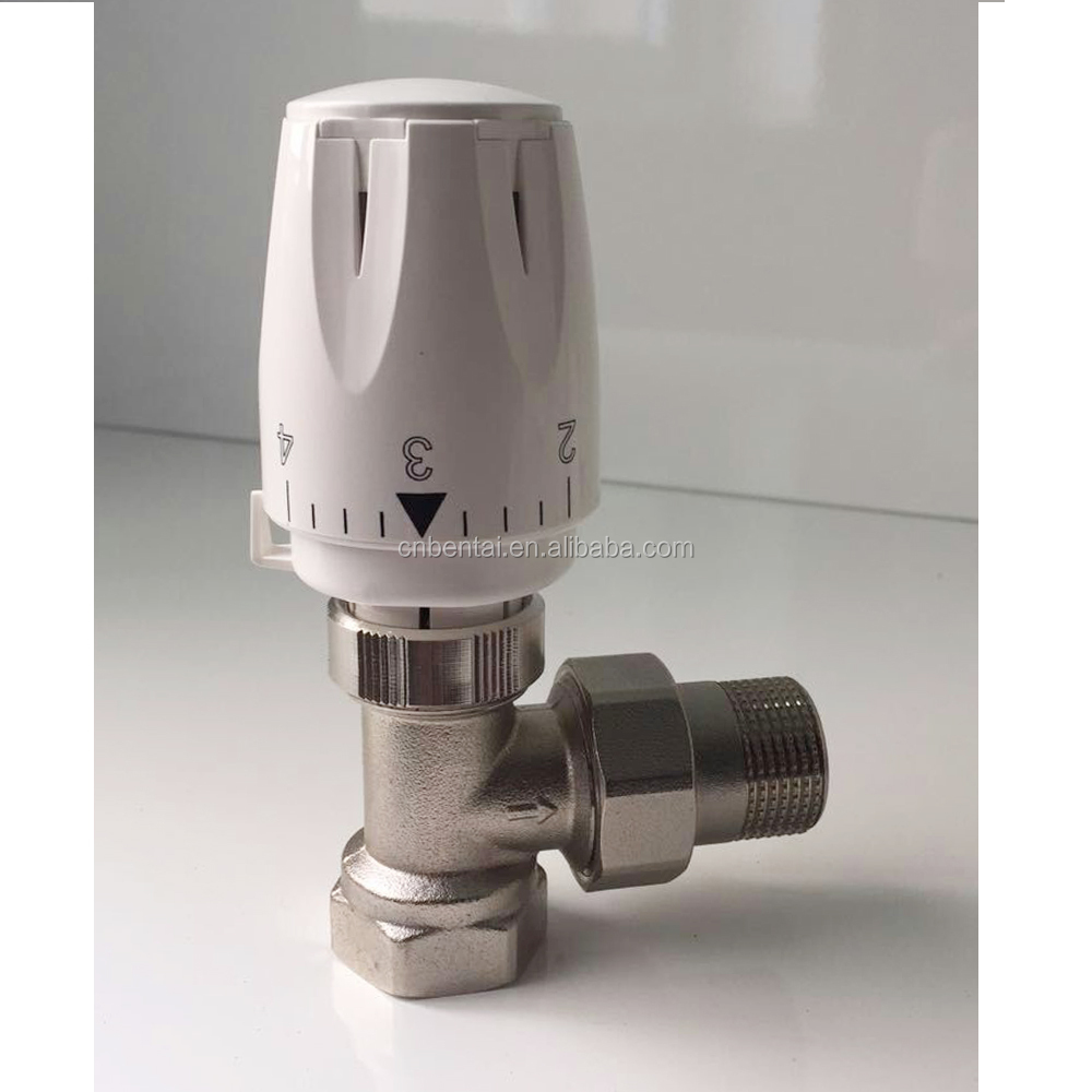 temperature control high accuracy +/-0.5 degree automatic radiator valves
