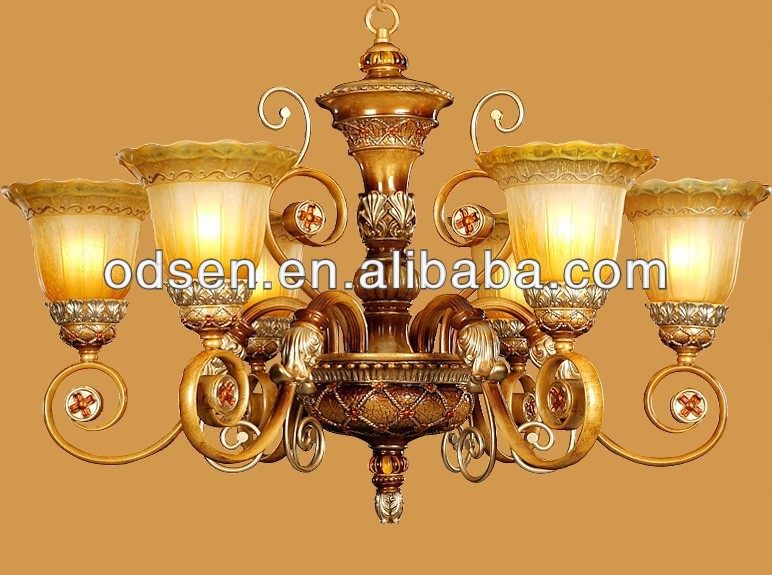 luxury retro style victorian chandelier light