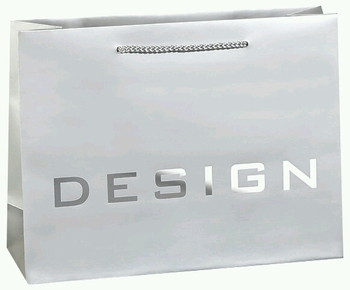 silver logo stamping cloth packaging paper carry bag buy paper