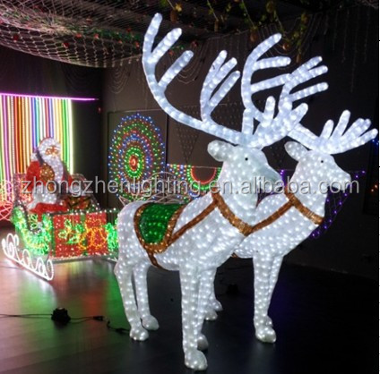 Greatest Led Lighted Horse Carriage For Christmas, Led Lighted Horse  TI61