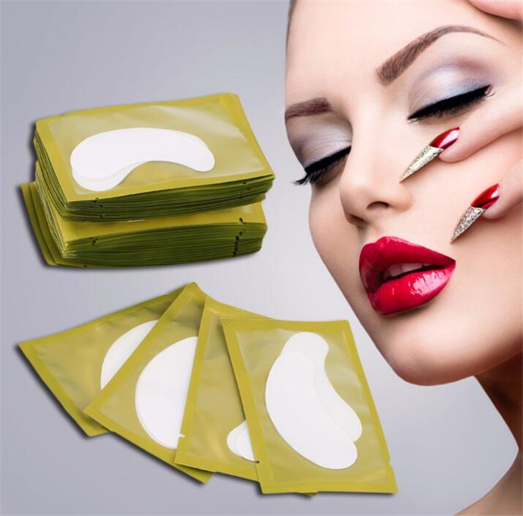 6 Color Disposable Eyelash Extension Patch Grafted Eyelash Hydrogel Eye Patch
