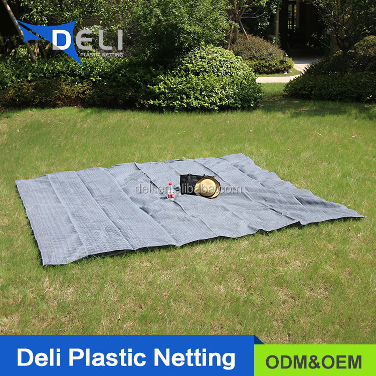 China Manufacturer high quality PE Outdoor Camping Carpet