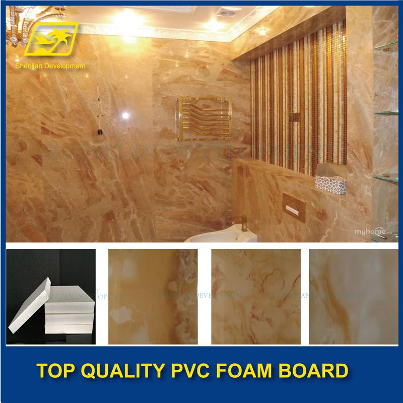 Hard Surface 4x8ft laminated pvc board with great price