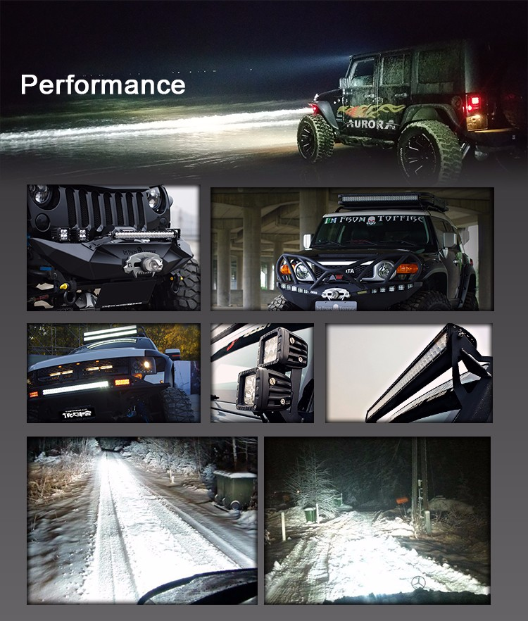24 Volt High Brightness & Quality 50'' Car Accessories wholesale led light bar