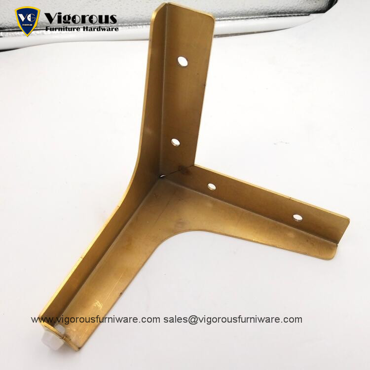135mm Decorative Kitchen Cabinet Legs Cheap Metal Table