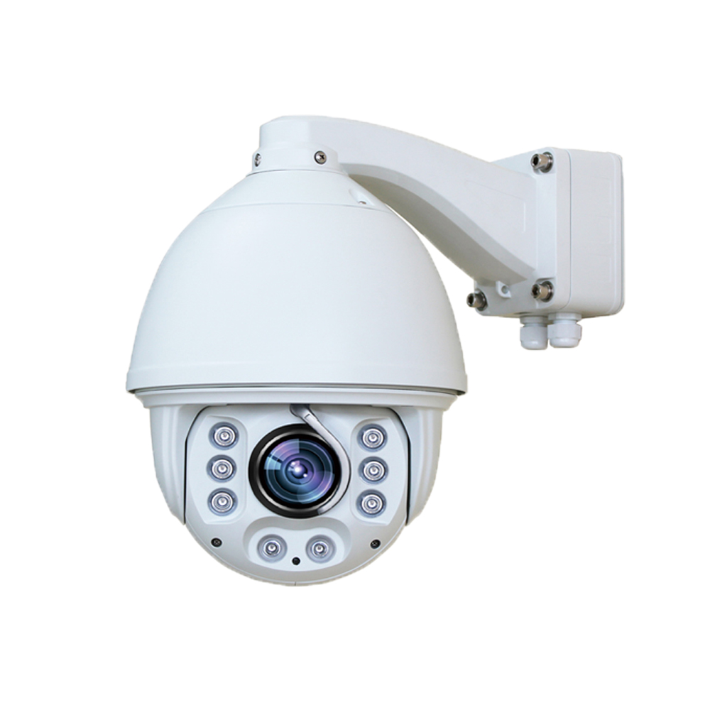 H.264 Cmos Hd 720 P High Speed Dome Ir Ip Ptz Camera