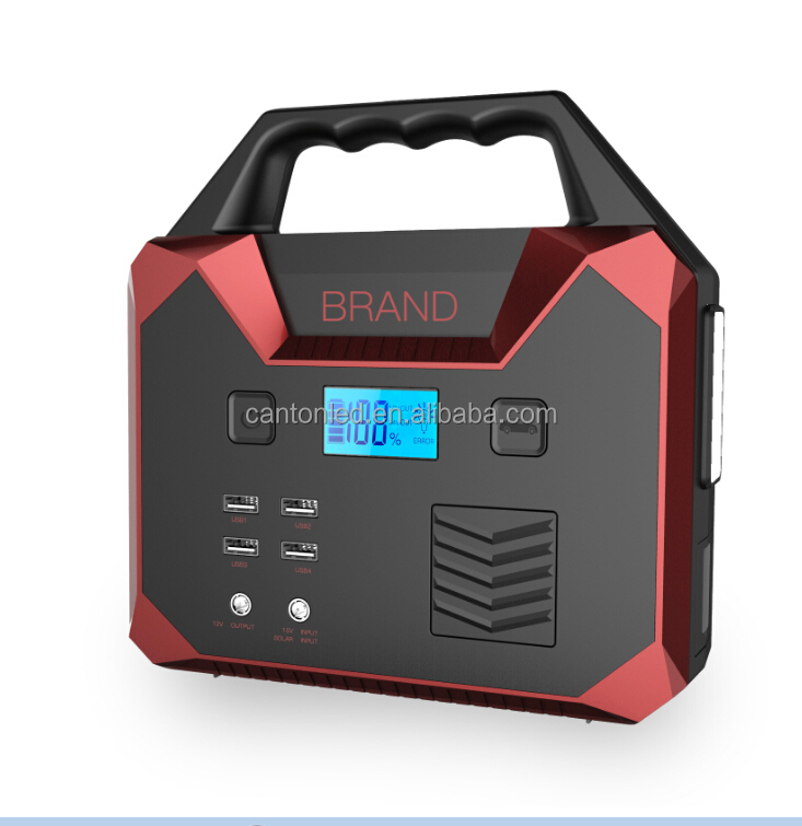 Outdoor Energy Storage 12V transfer 110V AC Power Pack power station for household appliance
