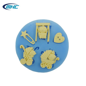baby boy silicone chocolate mold , silicone bakeware for cake tools