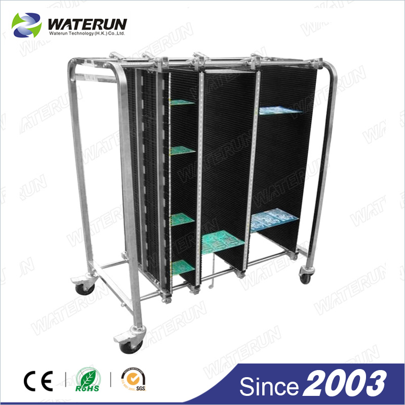 Aluminium 30pcs PCB Storage Magazine Rack