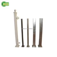 galvanized steel fence square post