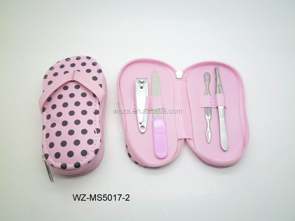 shoe shape manicure sets
