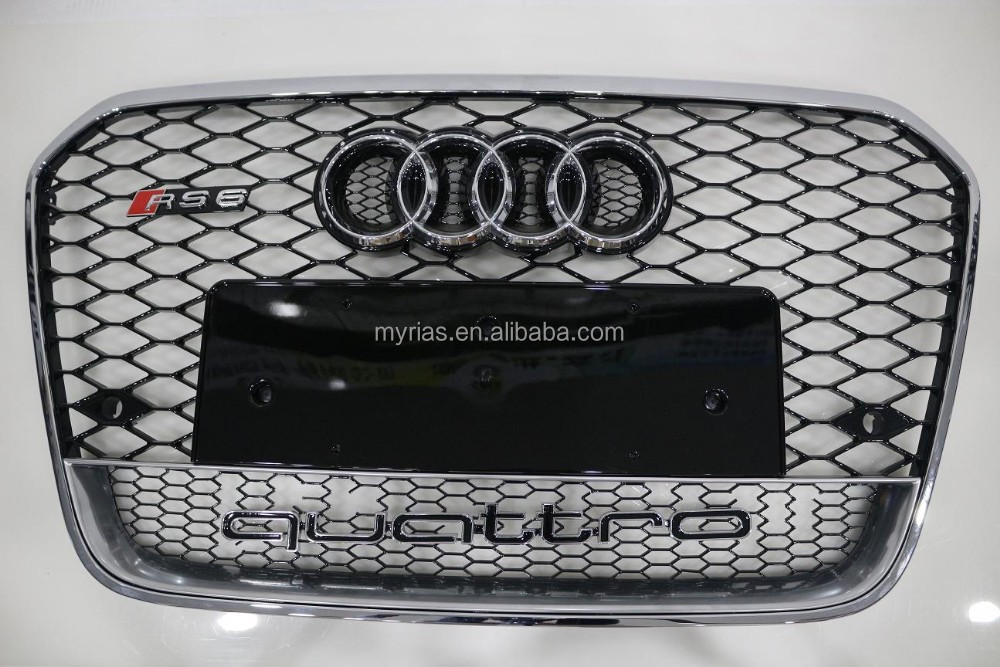 a6l upgrade to rs6 front grill(mesh) 2013
