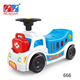 Pretend playing pet doctor dog ambulance toy kids ride on car with rescue box