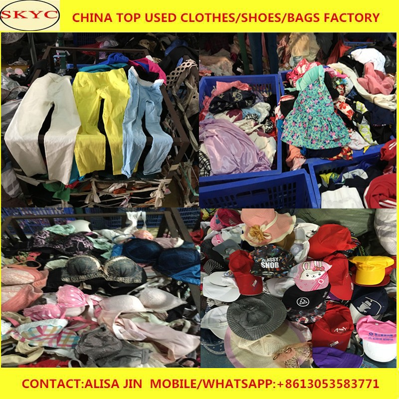 1dc2d7632 China Guangdong supplier highly sorted second hand clothes stock summer  season used clothing lots for Africa