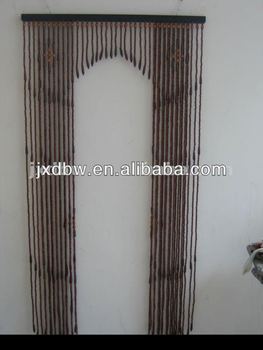 Movable Bamboo Wood Beads Door Curtain & Movable Bamboo Wood Beads Door Curtain - Buy Wood Beads Curtain ...