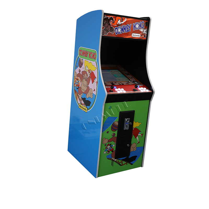 Donkey Kong Upright Arcade Stand Up Video Games Machine ...