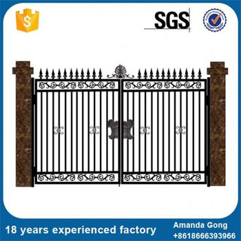 Good After Sales Service For House Compound Main Entrance Gate Design Home