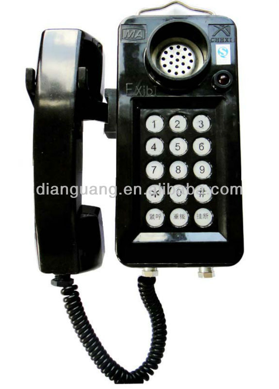 Kth108 Mining Explosion Proof Intrinsically Safe Telephone