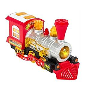 Blowing Train Car Battery Operated : Kids Toy Blowing Bubble Train Car Music, Lights and Bump'n'Go Battery Operated : Kids Toy Locomotive Engine Bubble Steam