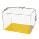 Wholesale plexiglass clear acrylic lego display case