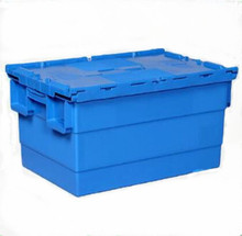 Euro Boxes Blue Plastic Storage Stackable Nestable Containers Box Crates