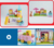 China produced plastic building blocks kids play set electric toy train with high quality