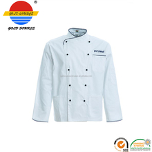 Chef <span class=keywords><strong>uniform</strong></span> Wit Chefs Jas <span class=keywords><strong>Restaurant</strong></span> Bar Werken Kleren <span class=keywords><strong>Restaurant</strong></span> <span class=keywords><strong>Uniform</strong></span>
