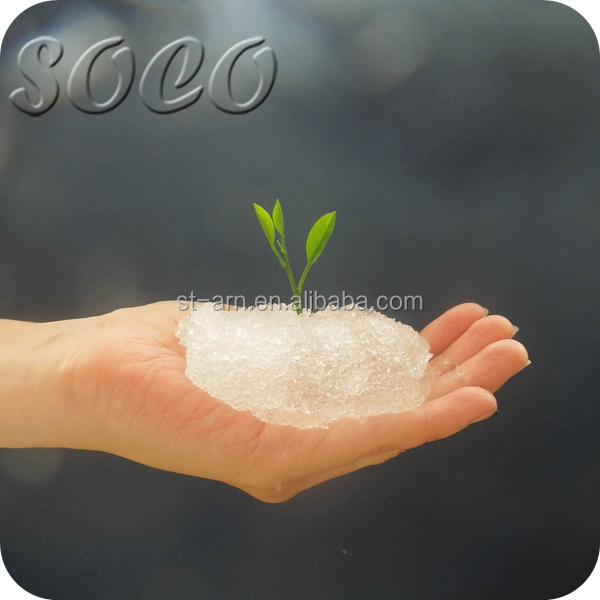 SAP Water Gel Polymer For Gardening Potassium Polyacrylate