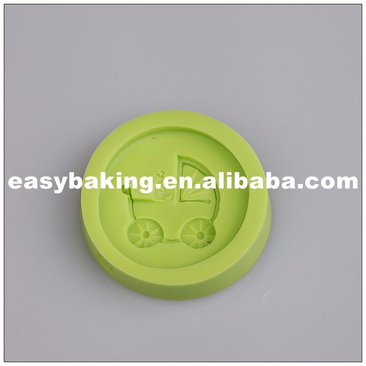 es-8413_Baby Carriage Soap Silicone Mold For Cake Fondant Decoration_7327.jpg