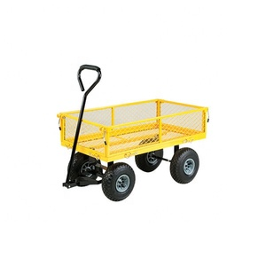 China professional manufacturer utility rolling cart garden tool trolley