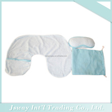 custom printed travel kit eye mask neck pillow with ear plug