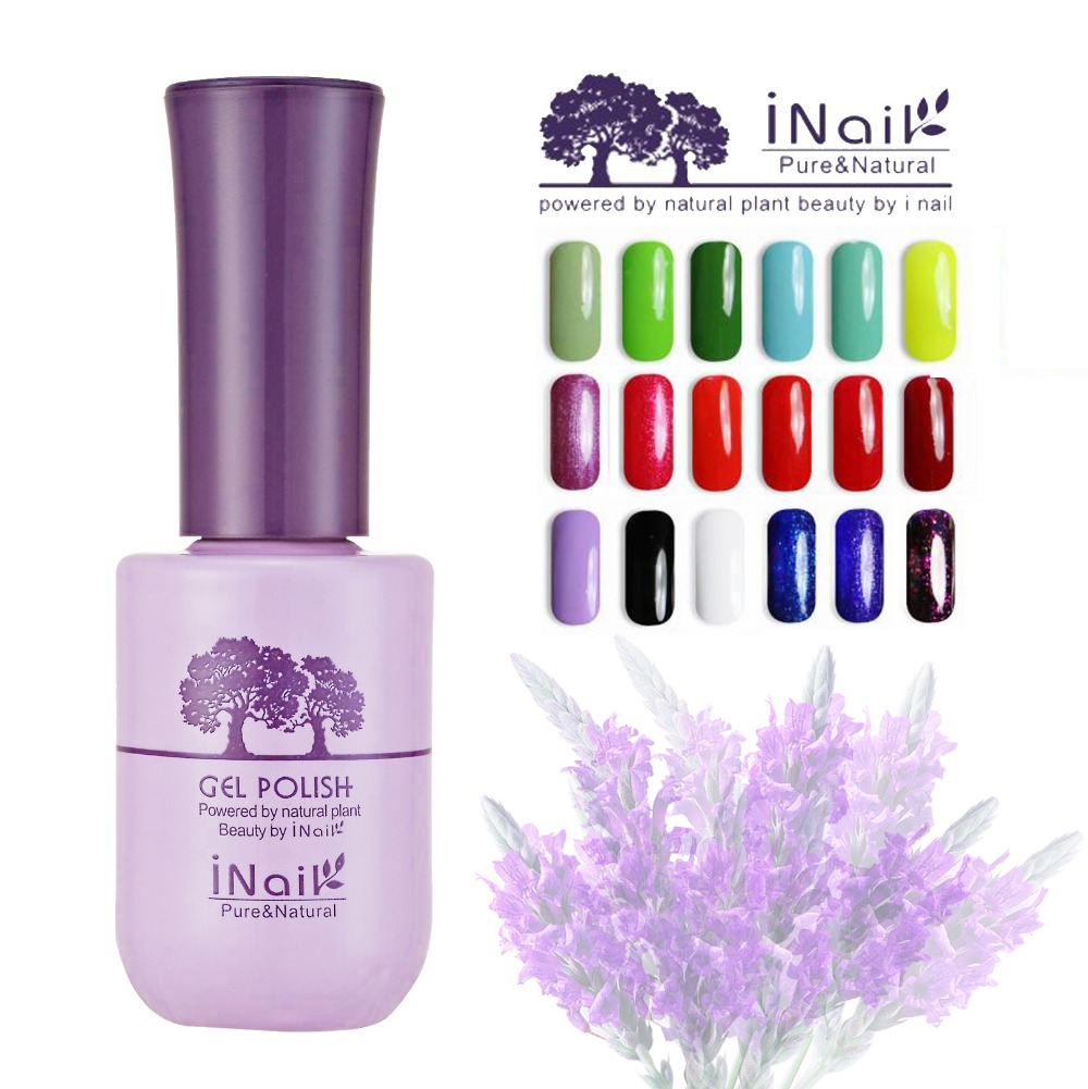 12pcs free shipping Inail lavender aroma UV Gel polish 15ml 78 wonderful colors to choice