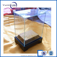 high tolerance and clear plastic glass cover lcd