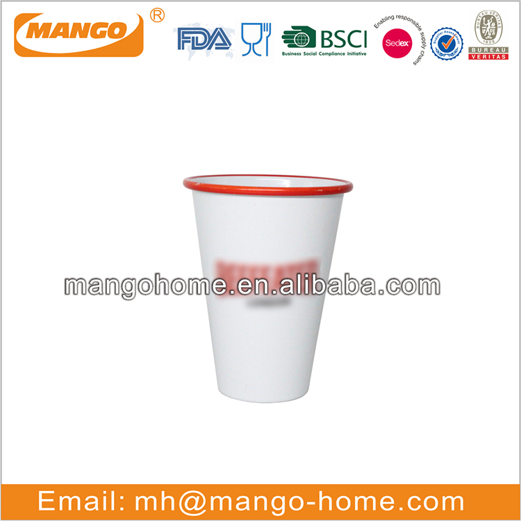Blue map powder coating metal cup