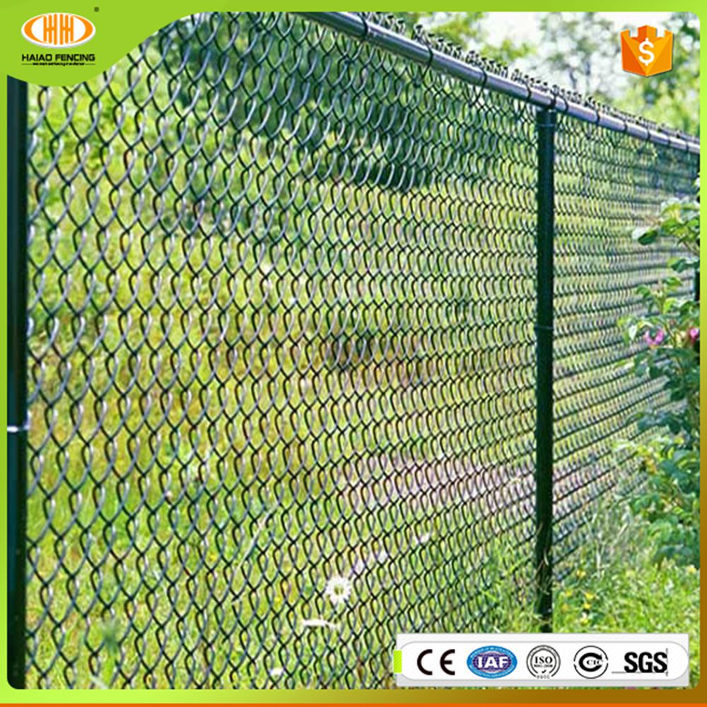 Chain link fence barbed wire for the security used of intrusion detectors /protection of prison/key project