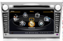 Radio DVD 2DIN Digtal touch screen bluetooth car radio gps for Subaru Legacy/outback 2011
