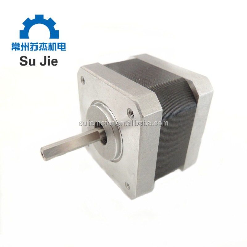 SJ42HS1617 3d printer stepper motor with NEMA17 Size D shaft with 1 meter leading wires