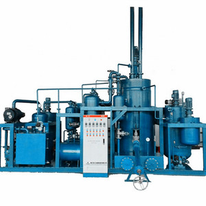 Vacuum Distillation Supplier Recycle Waste Engine Oil to Yellow Base Oil Machine