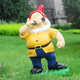 life size theme park outdoor playground dwarf statue decoration