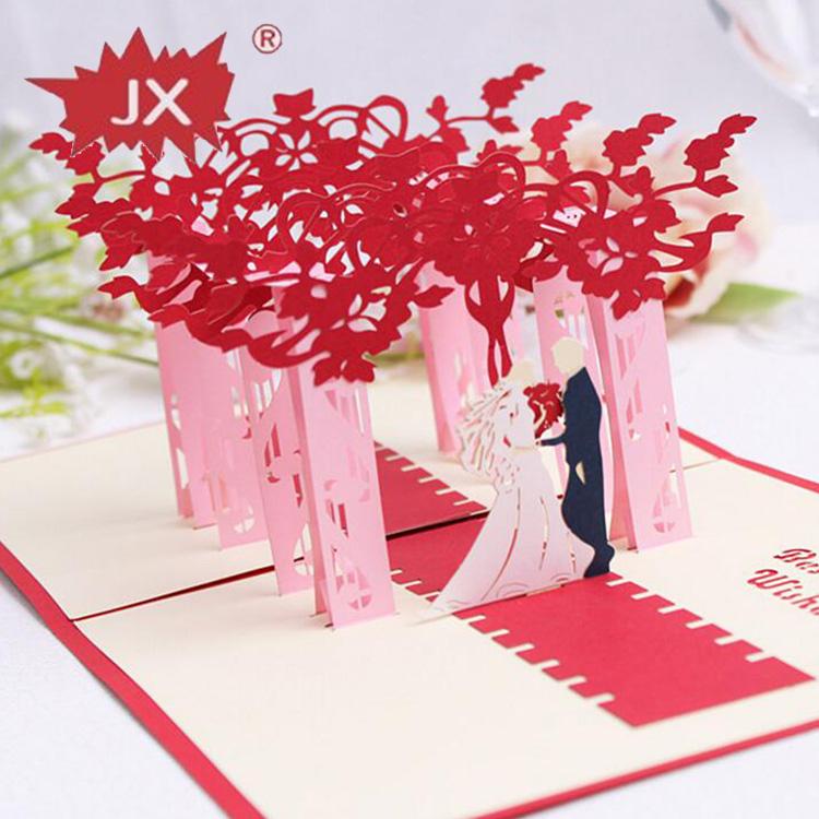 Цветы, киригами открытки на свадьбу